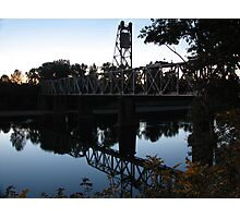 Willamette Reflections 4 Photographic Print