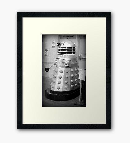 Old Fashioned Dalek Framed Print