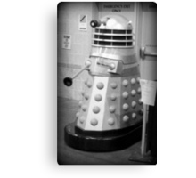 Old Fashioned Dalek Canvas Print