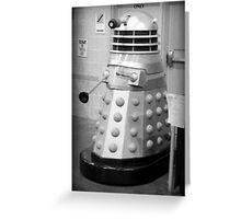 Old Fashioned Dalek Greeting Card