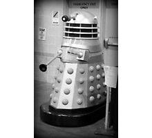 Old Fashioned Dalek Photographic Print