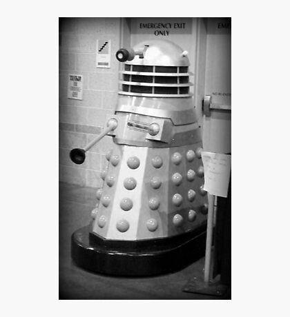 Old Fashioned Dalek Photographic Print