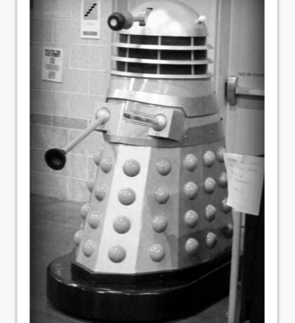 Old Fashioned Dalek Sticker