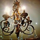 Lovely Chandelier at Convent Gallery, Daylesford, Vic. Australia by EdsMum