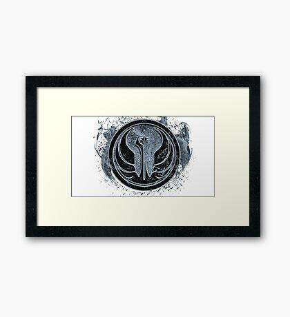 Symbol of Star Wars Framed Print