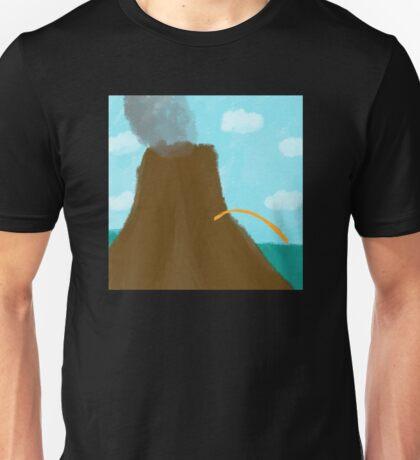 Peeing Volcano Unisex T-Shirt