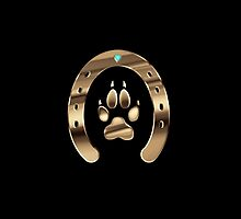 Horse shoe and canine paw print by l2designs
