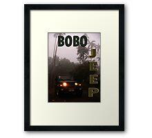 Bobo Jeep Framed Print