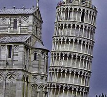 Leaning Tower of Pisa by Erika Benoit