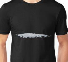 Glitch Groddle Land snow patch 3 Unisex T-Shirt