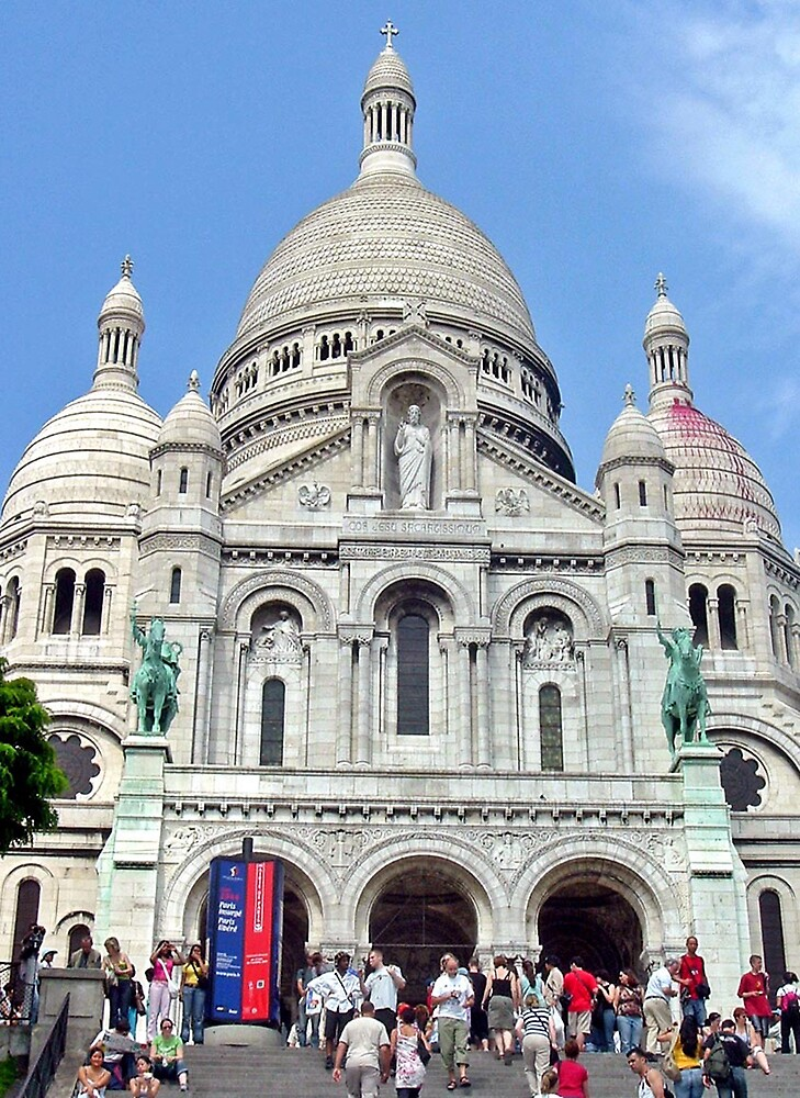 Sacre-Coeur Basilica by Erika Benoit