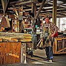 Morrisons Huon Pine Sawmill - Strahan Tasmania by TonyCrehan