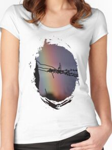 Wire Rainbow Women's Fitted Scoop T-Shirt