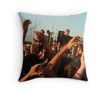 American Summer Throw Pillow