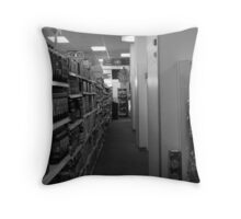 halway of convenience Throw Pillow