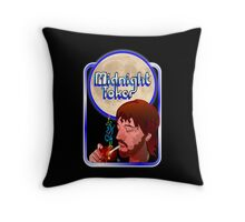 The Midnight Toker Throw Pillow
