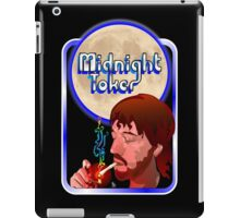 The Midnight Toker iPad Case/Skin