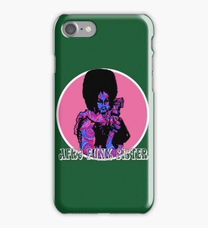 Spirals in Afro Funk Sister iPhone Case/Skin