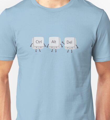 Cute Keyboard Nerd  Unisex T-Shirt