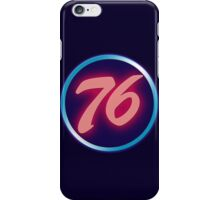 76 Neon iPhone Case/Skin