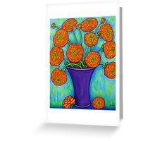 Radiant Ranunculus Greeting Card