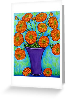 Radiant Ranunculus by LisaLorenz