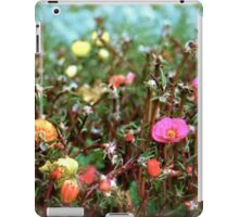 Lil Blessings christmas flowers iPad Case/Skin