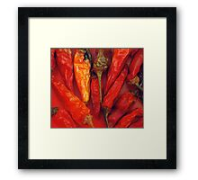 Hot hot hot... Framed Print