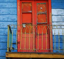 Blue Window by Beto Gutierrez