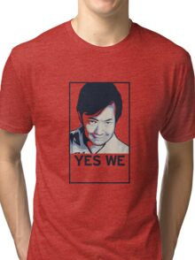 Yes We Chang! Tri-blend T-Shirt