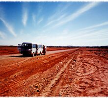 outback bus by Brenda Anderson