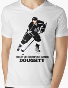 On the 8th Day - God Created Doughty Opt. 4 Mens V-Neck T-Shirt