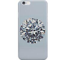Diamond (on silver) iPhone Case/Skin