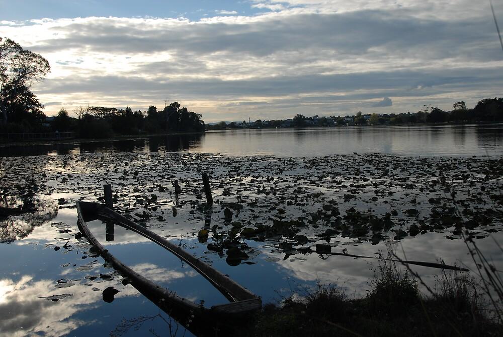 Lake at Dusk by Danielle Kennedy Boyd