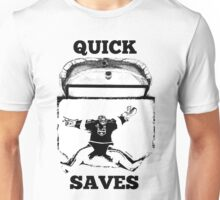Quick Saves - Opt. 1 Unisex T-Shirt