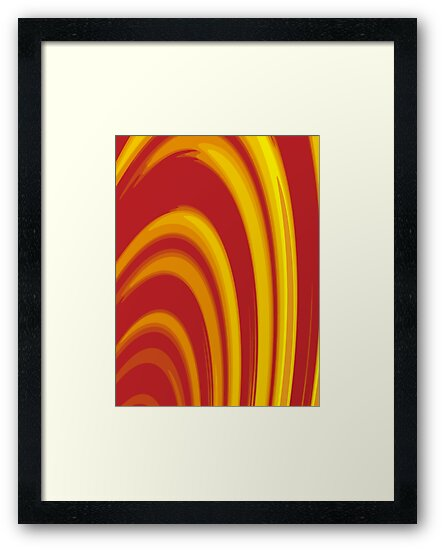 Burning Paper Hoops by Jay Mody