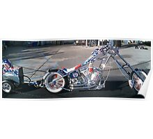 Miller Tools 75th Anniversary Bike; Long Beach California USA (Orange County Choppers Production) Poster