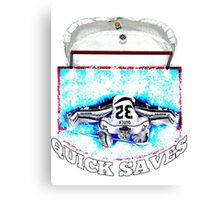 Quick Saves - Opt. 2 Canvas Print
