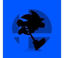 Smash Bros - Sonic Photographic Print