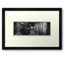 Bridge Street Alley Framed Print
