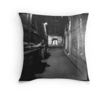 Bridge Street Alley Throw Pillow