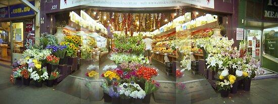 Balmain Fruit Shop by Steve Liney