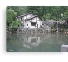 Shrine Canvas Print