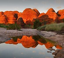 Domes  of Fire by Robert Armitage