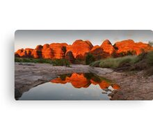Domes  of Fire Canvas Print