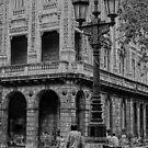 Havana Cuba Series - Street Lamp by sparrowhawk