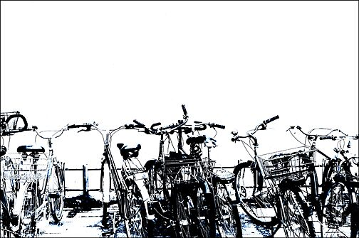 Bicycles by Joseph  Koprek