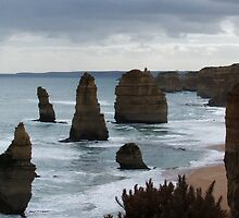 Port Campbell National Park - Twelve Apostles by BevB