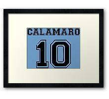 Andres Calamaro - Maradona -10 Framed Print