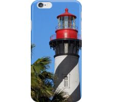 St. Augustine, Florida Lighthouse iPhone Case/Skin